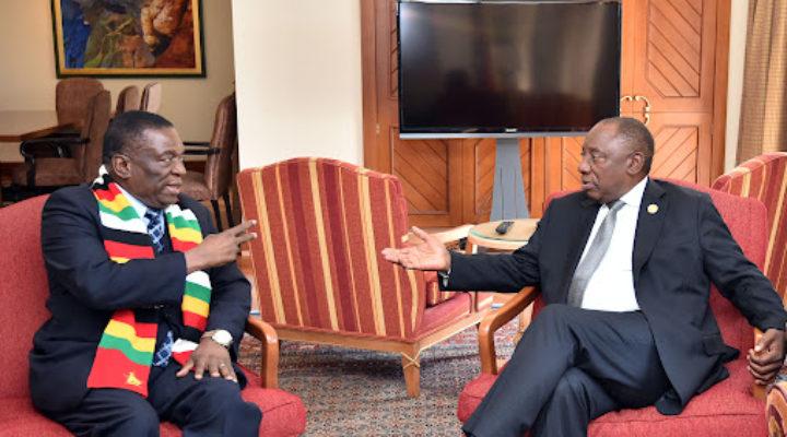 MnangagwaRamaphosa